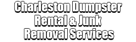 Charleston Dumpster Rental & Junk Removal Services Logo-We offer Septic Service & Repairs, Septic Tank Installations, Septic Tank Cleaning, Commercial, Septic System, Drain Cleaning, Line Snaking, Portable Toilet, Grease Trap Pumping & Cleaning, Septic Tank Pumping, Sewage Pump, Sewer Line Repair, Septic Tank Replacement, Septic Maintenance, Sewer Line Replacement, Porta Potty Rentals